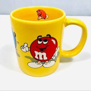 Vintage M&M Chocolate Candies Coffee Mug Mars 1996